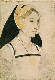 Mary Shelton, Lady Heveningham, Hans Holbein the Younger