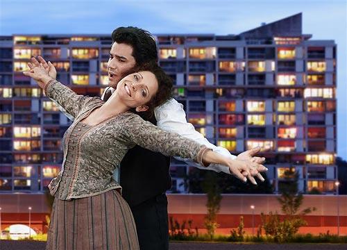 Maya Boog (Mimi) + Saimir Pirgu (Rodolfo), La Boheme, Bern
